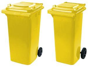popelnice na plast 240 a 120 l