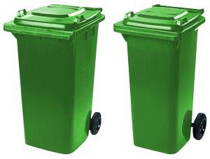 popelnice na sklo 240 a 120 l