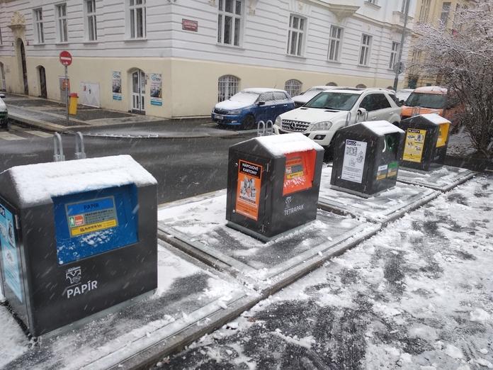 Nové stanoviště venkovní separace v ulici Chopinova